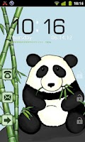 Screenshot of Bamboo Panda Theme GO Locker