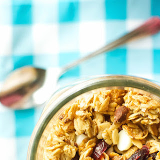 Brown Butter Granola with Dried Cranberries