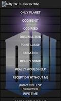 Screenshot of Soundboard - Doctor Who 10th