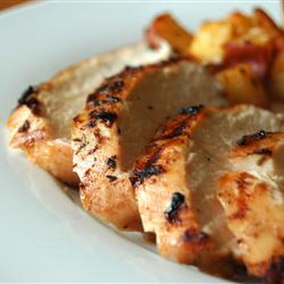 Grilled Chicken with Herbs