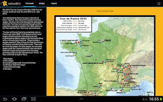 Screenshot of LeTour2013 - Tour de France