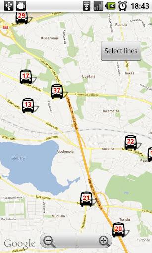 Tampere Bus Radar