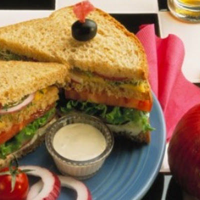 Hearty Onion-Veggie Sandwich
