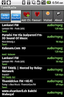 Screenshot of TamilRadio