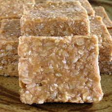 Unbaked Peanut Butter and Honey Bars