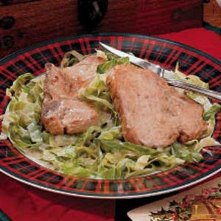 Pork and Cabbage Supper