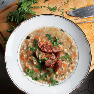 Graupensuppe (German Barley Soup)