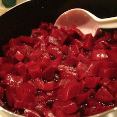 Harvard Beets for the Freezer (or Right Away)