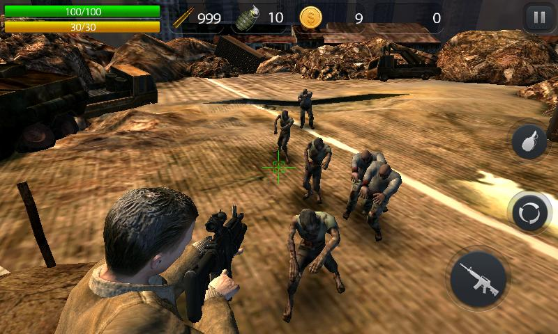 Zombie Hell - FPS Zombie Game Screenshot 0