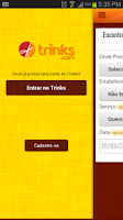 Screenshot of Trinks.com