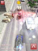 Screenshot of Crazy Car Driver