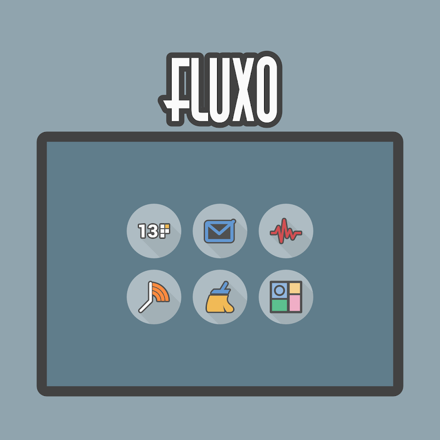 Fluxo - Icon Pack Screenshot 9
