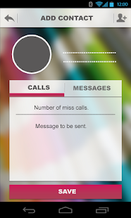 Infoner - missed call app - screenshot