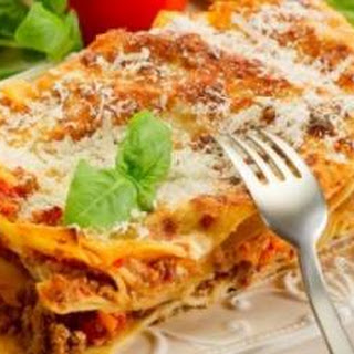 Lasagna Al Forno Recipes