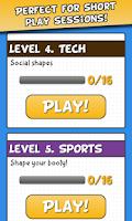 Screenshot of Guess the Shape Quiz