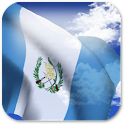 3D Guatemala Flag + icon