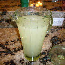 Fresh Ginger Infused Lemonade
