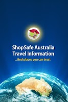 Screenshot of ShopSafe Australia Travel Info