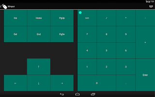 Screenshot of WInput - Mouse Remote Control