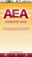 Screenshot of AEA Legislative Guide