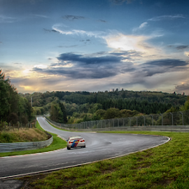 Car Racing by Dietmar Pohlmann - Sports & Fitness Other Sports ( car, nürburgring, racing )