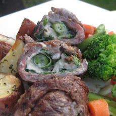 Rachael Ray's Flank Steak Pinwheels