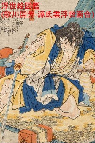Ukiyo Genjigumo Ukiyoe Awase