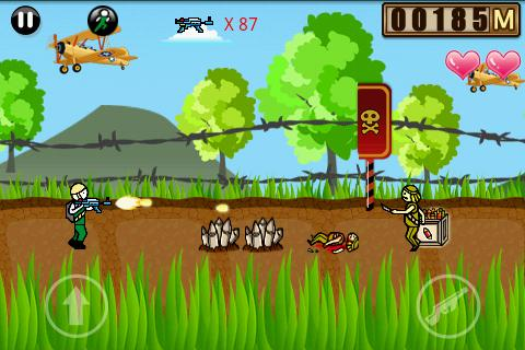 jungle-mission for android screenshot
