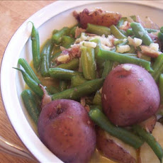 Dee's Green Beans in Crock Pot