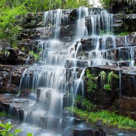 waterfall, Old mountain (Serbia) by Nikola Bašić  - Landscapes Waterscapes ( water, old mountain, serbia, waterfall, arbinje, tupavac, vodopad tupavac, stara planina srbija, vodopad, dojkinci )