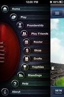 Screenshot of Footy Coach