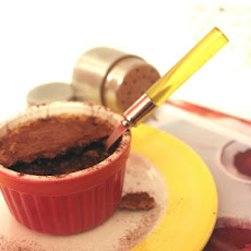 Mini Chocolate Custard with Cocoa Bean Crumble