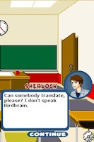 Screenshot of Young Sherlock!