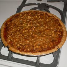 Walnut-Crunch Pumpkin Pie