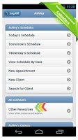 Screenshot of ScheduFlow Business Calendar