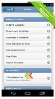 Screenshot of ScheduFlow Business Calendar