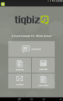 Screenshot of tiqbiz