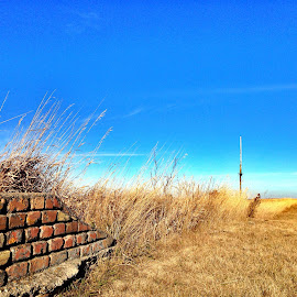 Ruins by Dustin White - Instagram & Mobile iPhone ( brick, state park, ruins, prairie, historic )