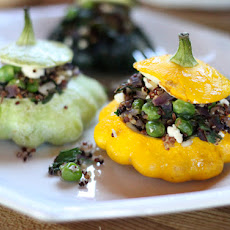 Summer Stuffed Patty Pans