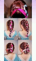 Screenshot of hairstyles DIY Diagram