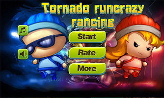 Screenshot of Crazy run Tornado racing