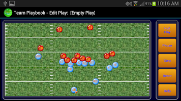 Screenshot of Football Team Playbook