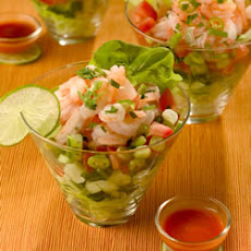 Tejano Style Shrimp Cocktail