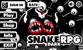 Screenshot of Snake RPG (Alpha version)