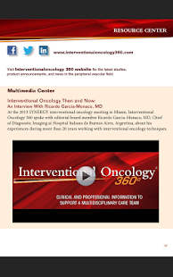 Interventional Oncology 360 - screenshot