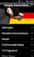 Screenshot of Simply Deutschland News Free