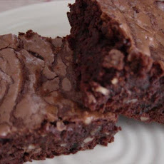 Chocolate Brownies With Raisins