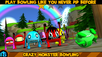 Screenshot of Crazy Monster Bowling