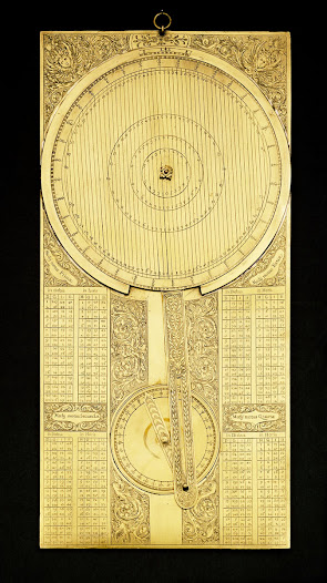 Jovilabe, an instrument used to calculate Jupiter's moons eclipses