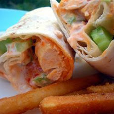 Buffalo Chicken Tortilla Wraps